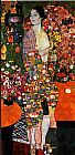 Gustav Klimt The Dancer painting