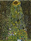Gustav Klimt The Sunflower painting