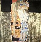 Gustav Klimt The Three Ages of Woman painting