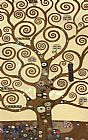 Gustav Klimt The Tree of Life (gold foil) painting
