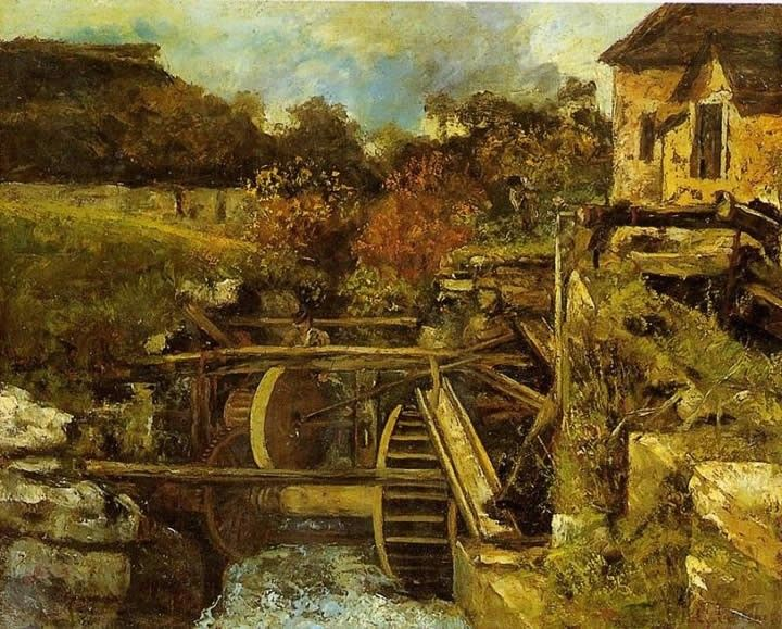 Gustave Courbet The Ornans Paper Mill