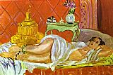 Henri Matisse Odalisque Harmony in Red painting