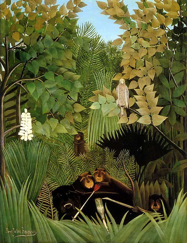 Henri Rousseau The Merry Jesters