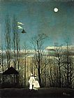 Henri Rousseau Carnival Evening painting