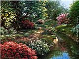 Henry Pether Pathway to Bedford Ridge painting