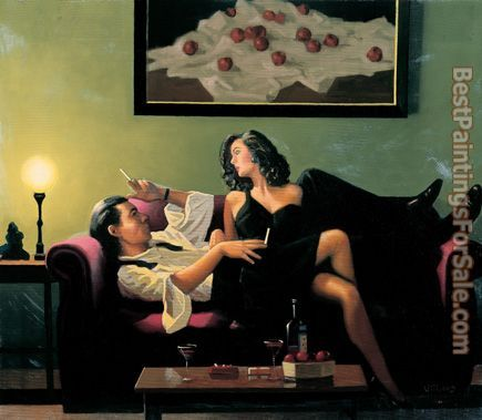 Jack Vettriano After Midnight