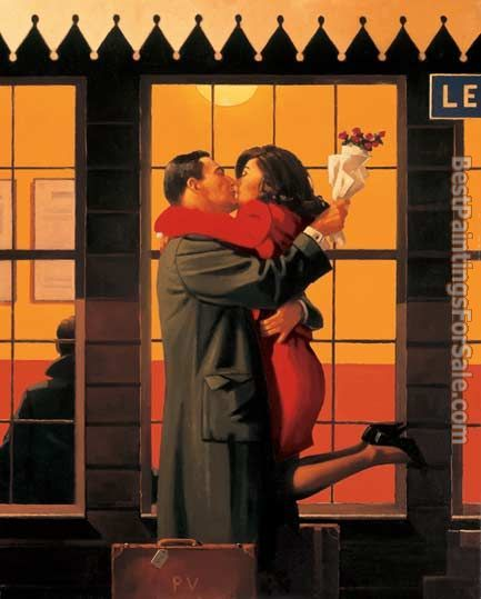 Jack Vettriano Back Where You Belong
