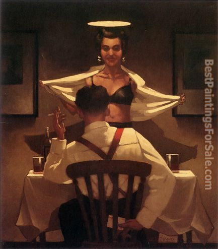 Jack Vettriano Busted Flush