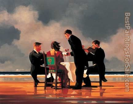 Jack Vettriano Elegy for The Dead Admiral i