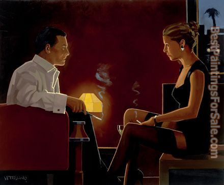 Jack Vettriano Queen of Diamonds