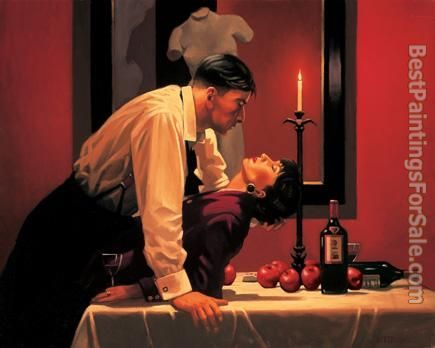 Jack Vettriano The Party's Over