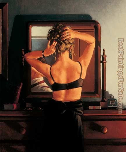 Jack Vettriano The Rooms of a Stranger
