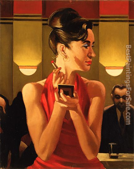 Jack Vettriano Working the Lounge