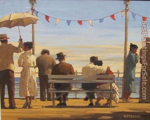 Jack Vettriano the Pier