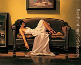 Jack Vettriano After The Thrill Is Gone painting