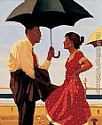 Jack Vettriano Bad Boy_ Good Girl painting