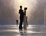 Dancer paintings - Dance Me to the End of Love I by Jack Vettriano
