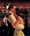 Jack Vettriano Dancing Couple painting