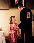 Jack Vettriano Defending Champions painting