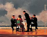 Jack Vettriano Elegy for The Dead Admiral i painting
