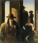 Jack Vettriano Ghosts From The Past painting