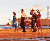 Jack Vettriano Good Days' Sunshine painting