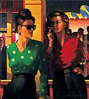 Jack Vettriano Good Time Girls painting