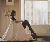 Jack Vettriano In Thoughts Of You I painting