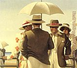 Jack Vettriano Incident On The Promenade painting