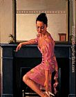 Jack Vettriano Model in Westwood painting