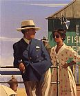 Jack Vettriano Ritual of Courtship painting