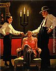 Jack Vettriano Setting New Standards painting
