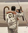 Jack Vettriano Ship Of Dreams painting