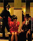 Jack Vettriano Sometimes It's A Man's World painting