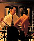 Jack Vettriano Strangers In The Night painting