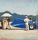 Jack Vettriano Study for Bluebird at Bonneville painting