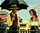 Jack Vettriano Summertime Blues painting
