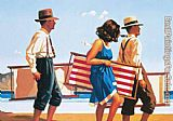 Jack Vettriano Sweet Bird of Youth painting