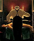 Jack Vettriano The Administration of Justice painting