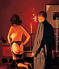 Jack Vettriano The Assessment painting