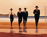 Jack Vettriano The Billy Boys painting