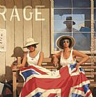Jack Vettriano The British Are Coming painting