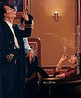 Jack Vettriano The Cigar Divan painting