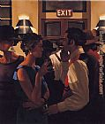 Jack Vettriano The City Cafe painting