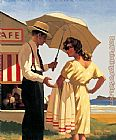 Jack Vettriano The Direct Approach painting