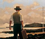 Jack Vettriano The Drifter painting