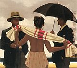 Jack Vettriano The Gathering Clouds painting
