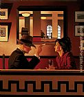 Jack Vettriano The Man in the Mirror painting