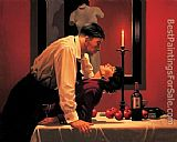 Jack Vettriano The Party's Over painting