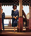 Jack Vettriano The Railway Station painting